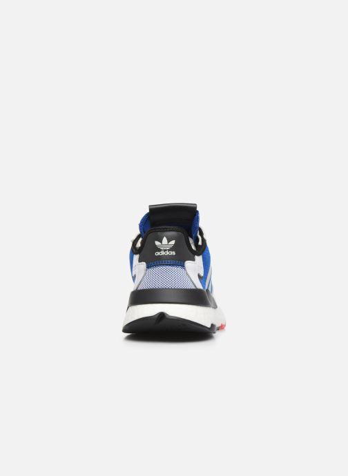 Deportivas adidas originals Nite Jogger M Azul vista lateral derecha