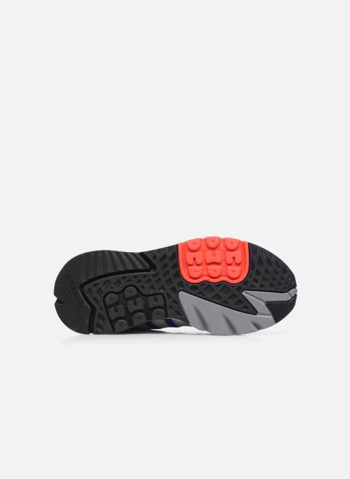 Sneaker adidas originals Nite Jogger M blau ansicht von oben