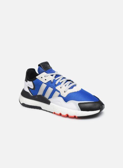 Deportivas adidas originals Nite Jogger M Azul vista de detalle / par