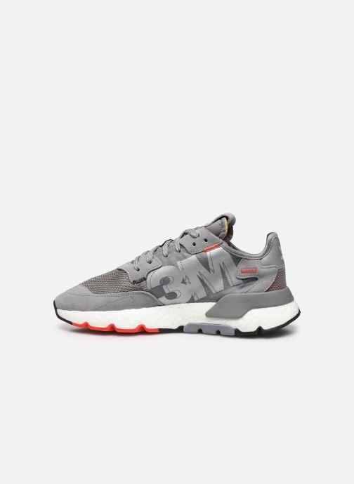 Sneakers adidas originals Nite Jogger M Grijs voorkant