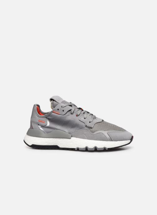 Sneakers adidas originals Nite Jogger M Grijs achterkant