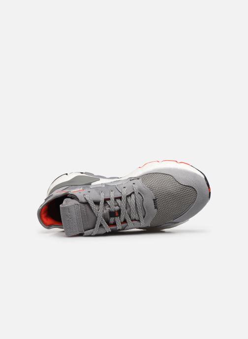 Deportivas adidas originals Nite Jogger M Gris vista lateral izquierda