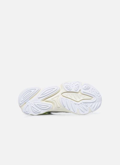 Baskets adidas originals Ozweego Vert vue haut