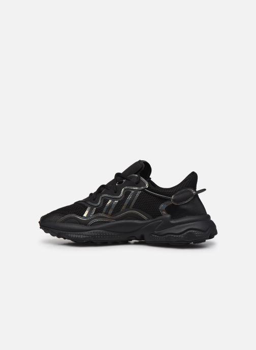 Sneaker adidas originals Ozweego schwarz ansicht von vorne