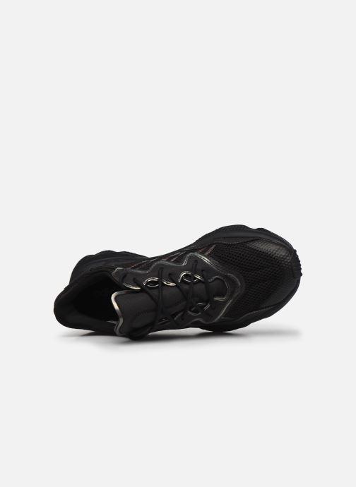 Sneaker adidas originals Ozweego schwarz ansicht von links