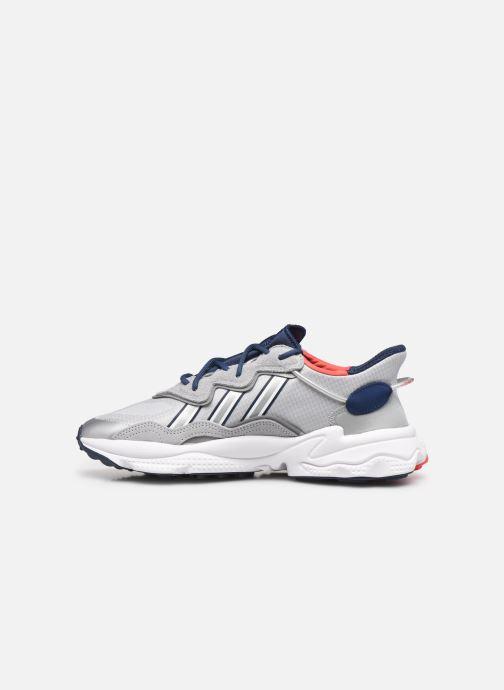 Sneaker adidas originals Ozweego grau ansicht von vorne