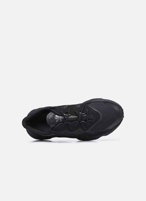 Baskets adidas originals Ozweego Noir vue gauche