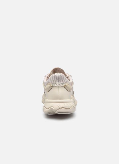 Sneaker adidas originals Ozweego beige ansicht von rechts