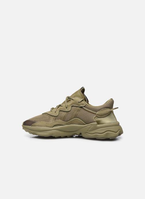 Sneaker adidas originals Ozweego grün ansicht von vorne