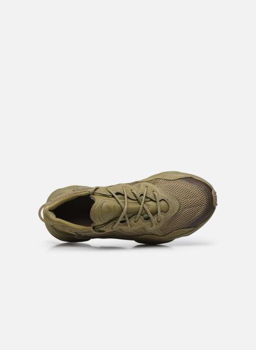 Sneaker adidas originals Ozweego grün ansicht von links