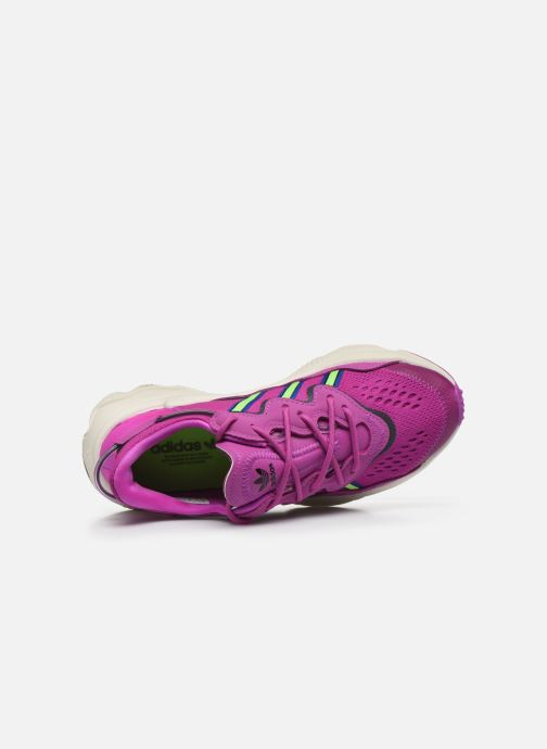 Sneakers adidas originals Ozweego W Rosa immagine sinistra