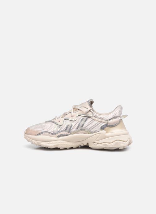 Sneakers adidas originals Ozweego W Beige voorkant