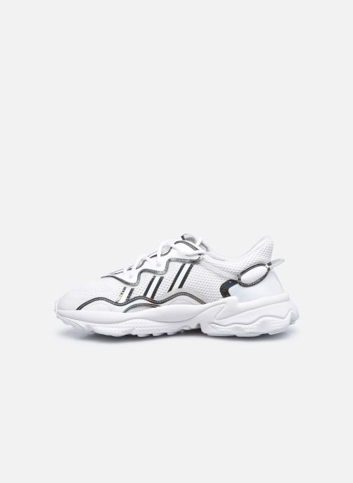 Baskets adidas originals Ozweego W Blanc vue face