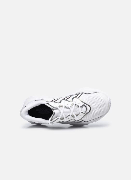 Baskets adidas originals Ozweego W Blanc vue gauche
