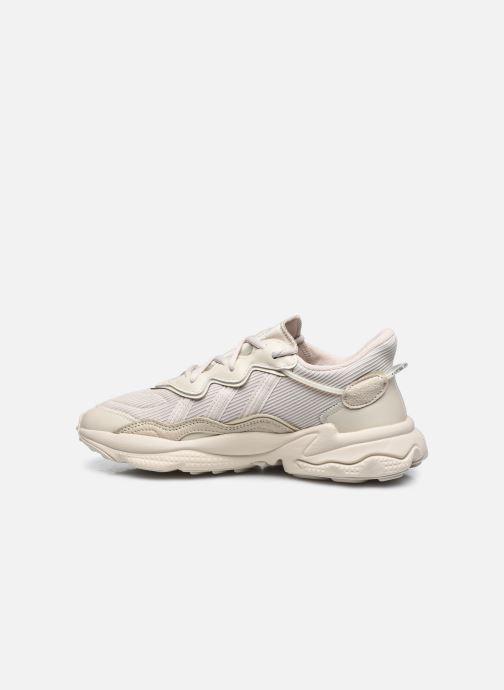 Sneaker adidas originals Ozweego W beige ansicht von vorne