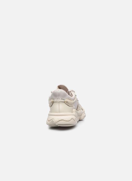 Sneaker adidas originals Ozweego W beige ansicht von rechts