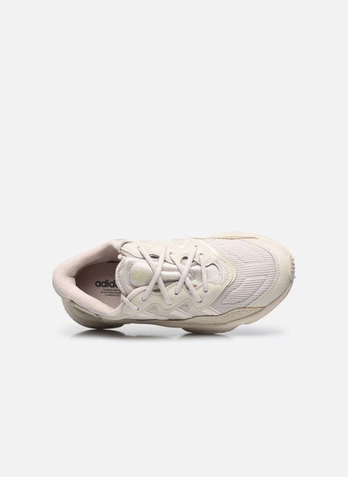 Sneaker adidas originals Ozweego W beige ansicht von links