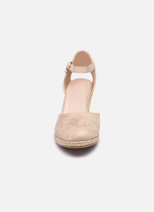 Espadrilles Xti 49730 Beige vue portées chaussures