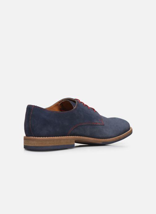 Zapatos con cordones Mr SARENZA Novala Azul vista de frente