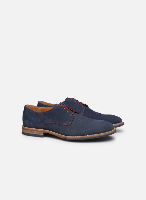 Zapatos con cordones Mr SARENZA Novala Azul vistra trasera