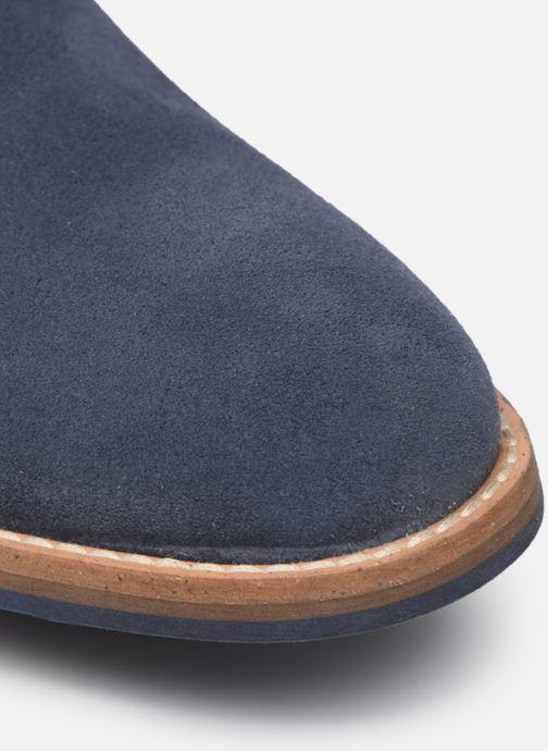 Zapatos con cordones Mr SARENZA Novala Azul vista lateral izquierda