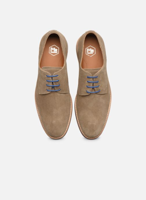 Lace-up shoes Mr SARENZA Novala Beige model view