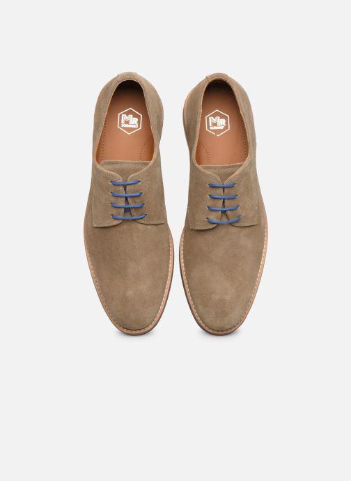 Zapatos con cordones Mr SARENZA Novala Beige vista del modelo