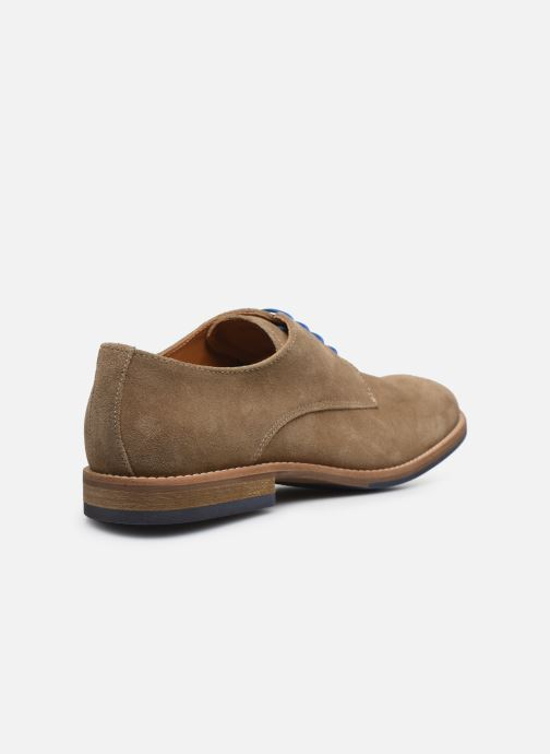 Zapatos con cordones Mr SARENZA Novala Beige vista de frente