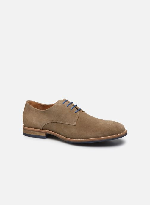 Lace-up shoes Mr SARENZA Novala Beige view from the right