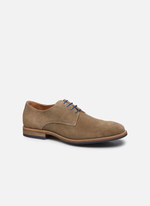 Zapatos con cordones Mr SARENZA Novala Beige vista lateral derecha