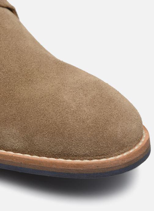 Zapatos con cordones Mr SARENZA Novala Beige vista lateral izquierda