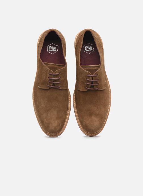 Chaussures à lacets Mr SARENZA Newvy Marron vue portées chaussures