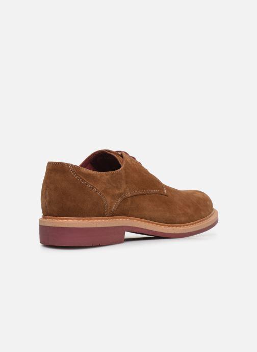 Chaussures à lacets Mr SARENZA Newvy Marron vue face