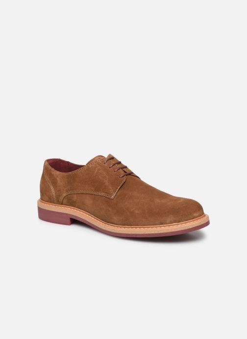 Zapatos con cordones Mr SARENZA Newvy Marrón vista lateral derecha