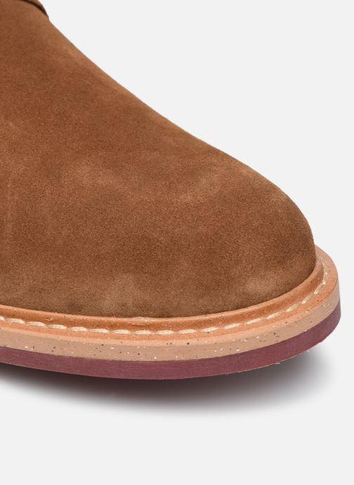 Chaussures à lacets Mr SARENZA Newvy Marron vue gauche