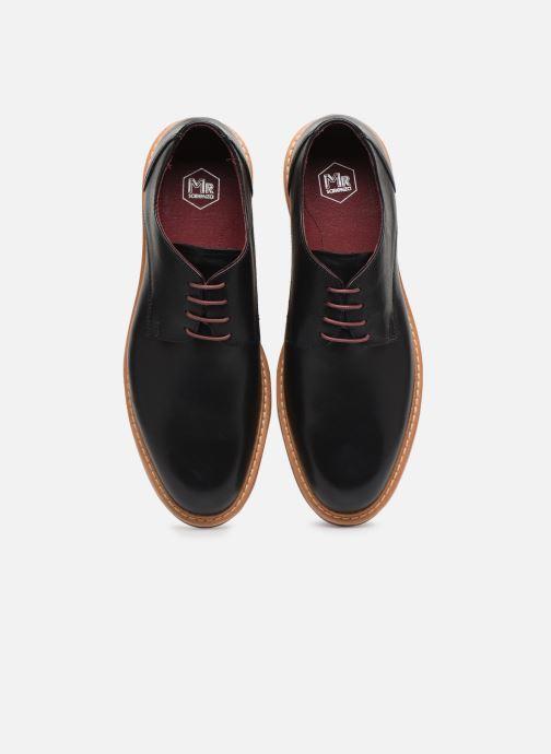 Zapatos con cordones Mr SARENZA Newvy Negro vista del modelo