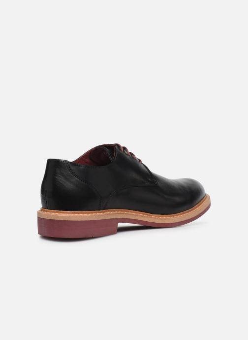 Zapatos con cordones Mr SARENZA Newvy Negro vista de frente