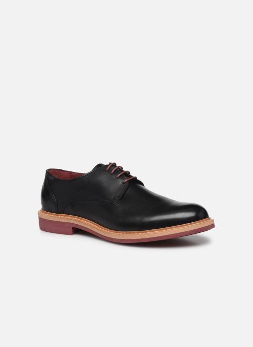 Zapatos con cordones Mr SARENZA Newvy Negro vista lateral derecha