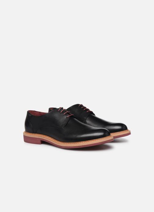 Zapatos con cordones Mr SARENZA Newvy Negro vistra trasera