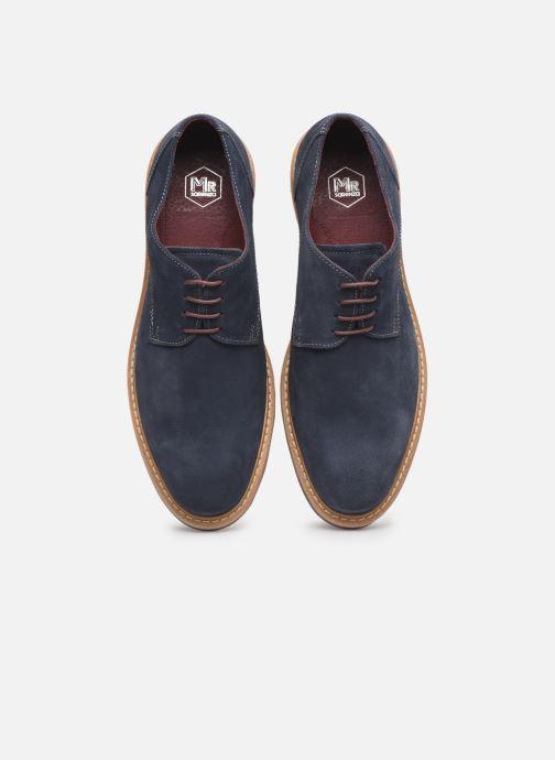 Zapatos con cordones Mr SARENZA Newvy Azul vista del modelo