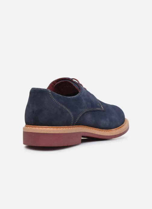 Zapatos con cordones Mr SARENZA Newvy Azul vista de frente