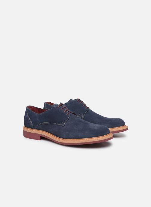 Zapatos con cordones Mr SARENZA Newvy Azul vistra trasera