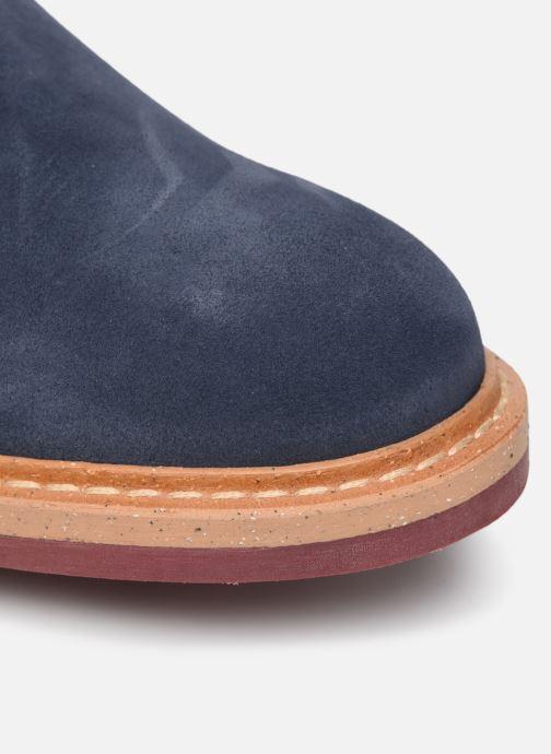 Zapatos con cordones Mr SARENZA Newvy Azul vista lateral izquierda