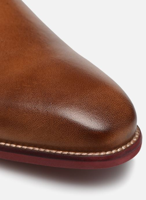 Zapatos con cordones Mr SARENZA Nourio Marrón vista lateral izquierda