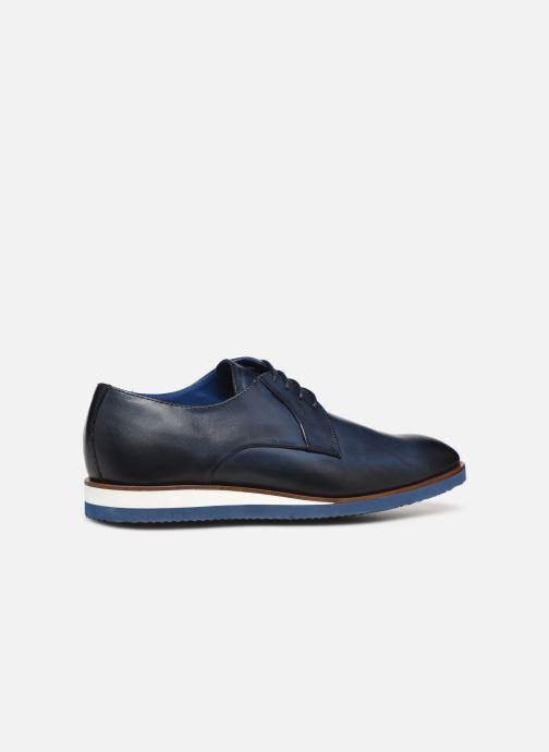 Zapatos con cordones Mr SARENZA Nimeli Azul vista de frente