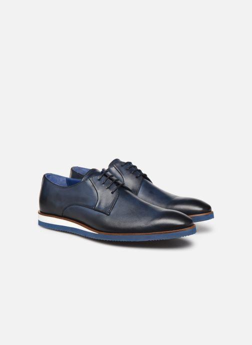 Zapatos con cordones Mr SARENZA Nimeli Azul vistra trasera