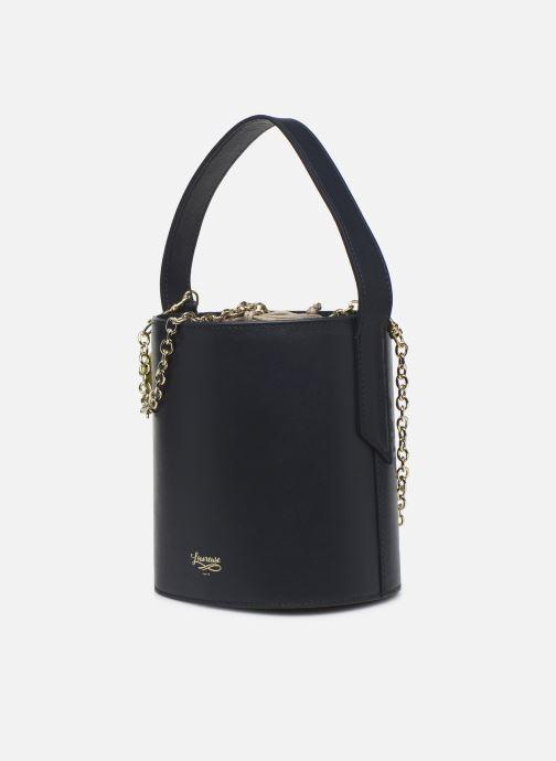 Handtaschen Louvreuse Olga blau schuhe getragen