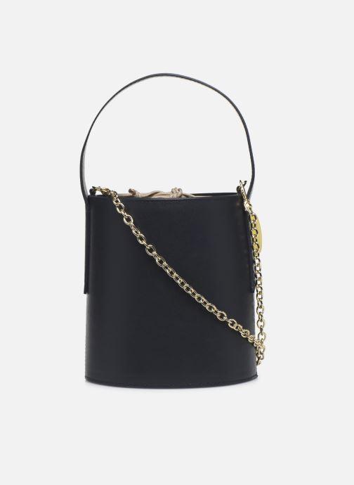 Handtaschen Louvreuse Olga blau ansicht von vorne