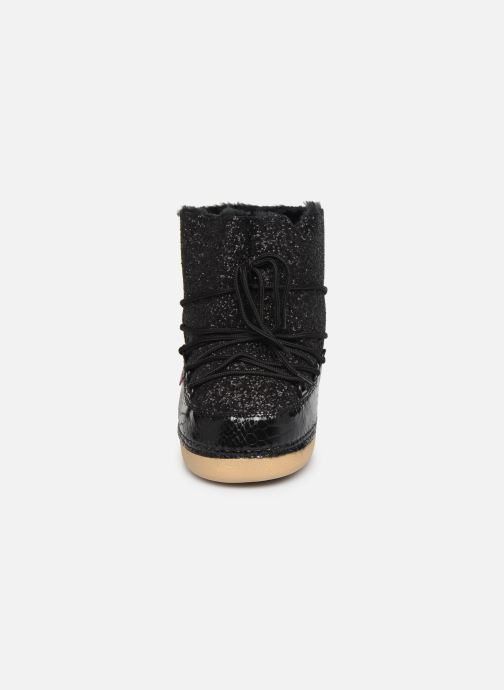 Bottes Colors of California Bruno Noir vue portées chaussures