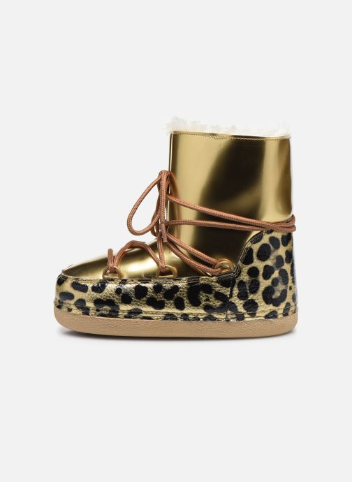 Bottines et boots Colors of California Inge Or et bronze vue face